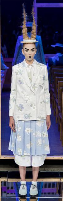 Thom Browne 2016春夏纽约时装周