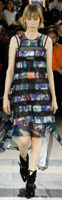 Sacai 2016春夏巴黎时装周