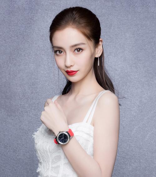 Angelababy(杨颖)首次亮相泰格豪雅新品发布会