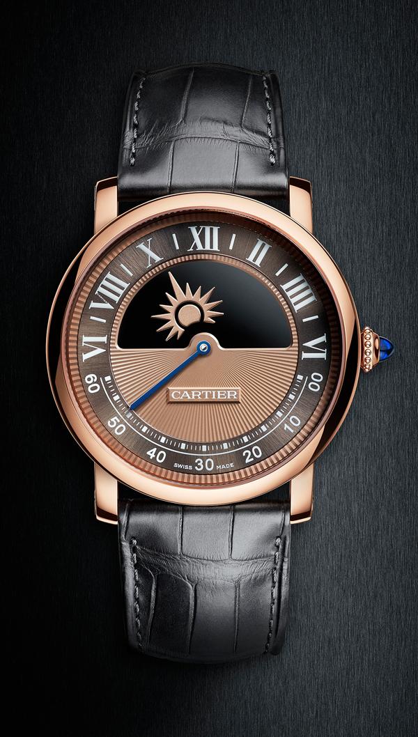 卡地亚Rotonde de Cartier昼夜显示神秘腕表