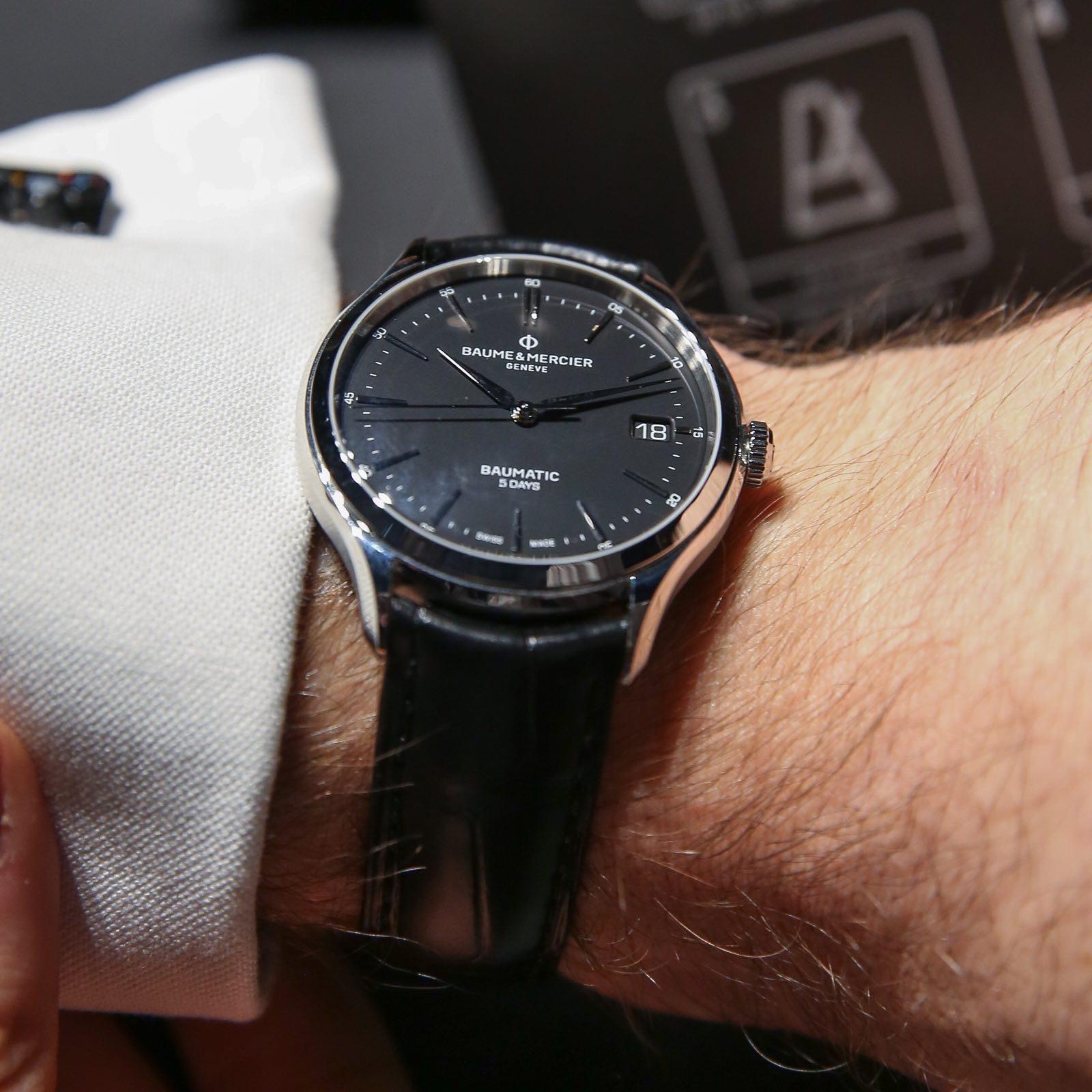名士克里顿 Baumatic腕表