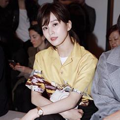 看了刘诗诗才知道黑裤+白鞋这么好看!