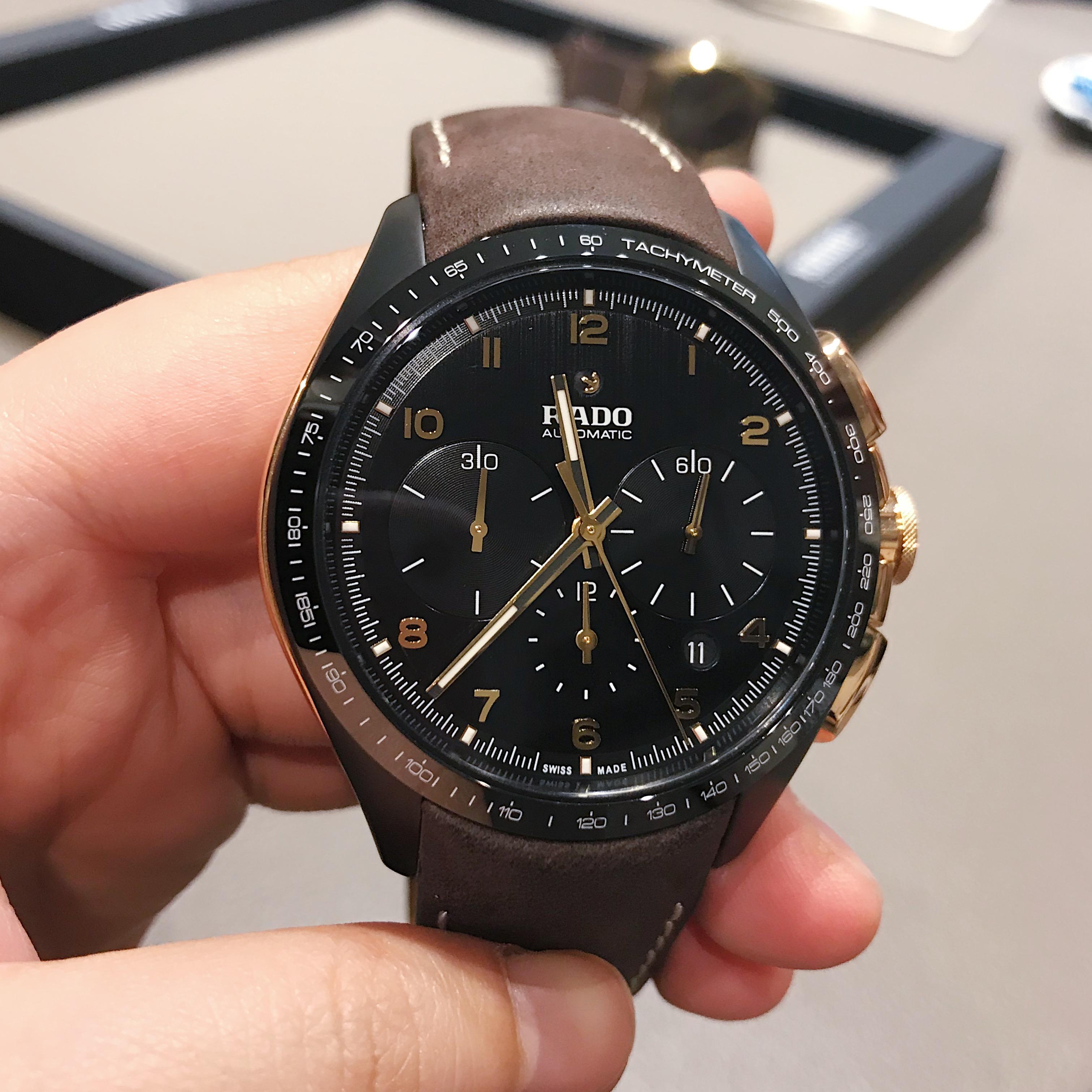 瑞士雷达表HyperChrome 皓星系列高科技陶瓷计时腕表
