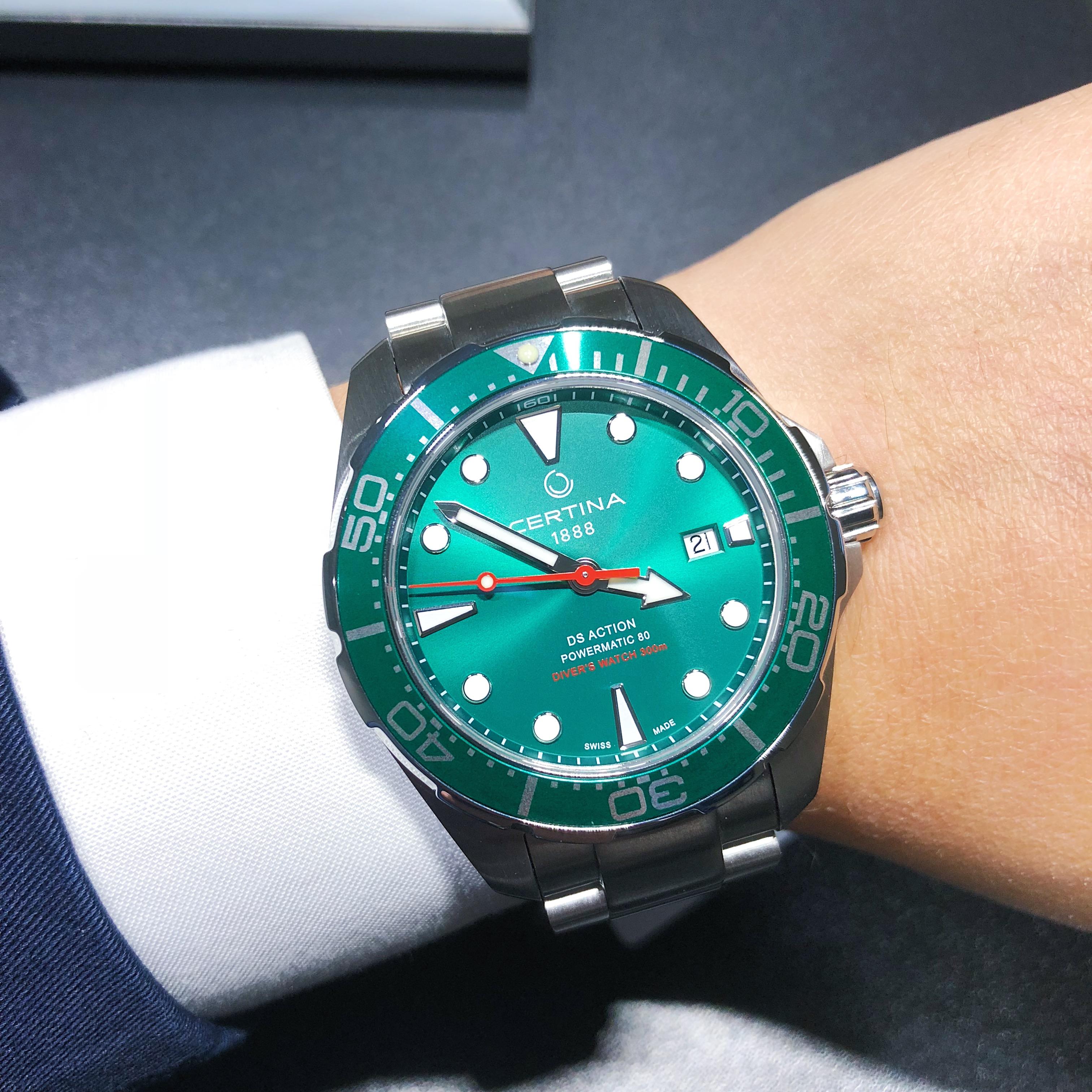 雪铁纳新款腕表