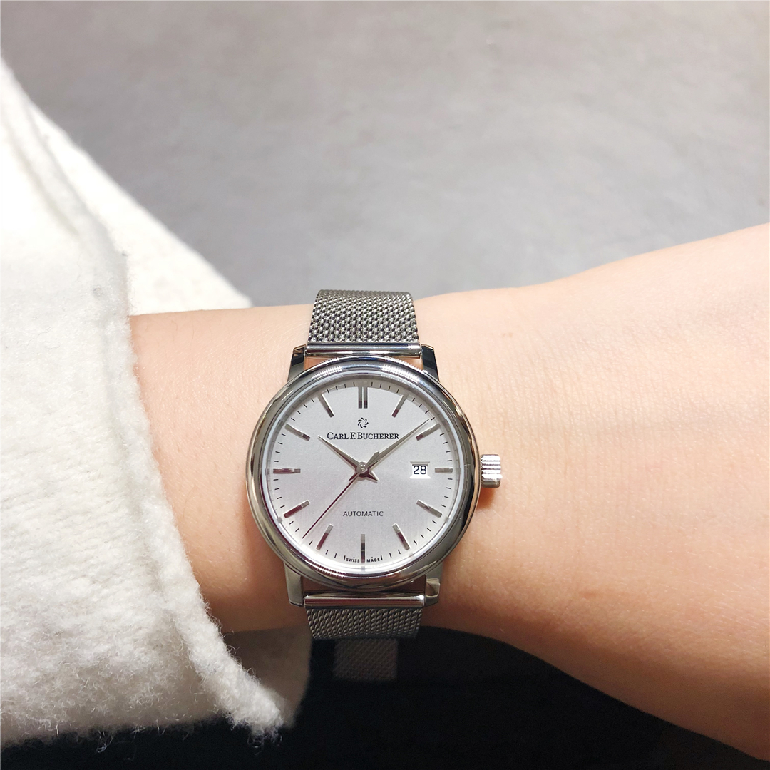 宝齐莱爱德玛尔系列新款米兰链腕表