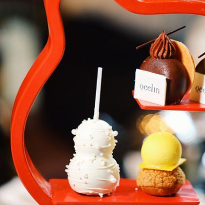 广州富力丽思卡尔顿酒店于珍珠酒廊呈献Qeelin精美下午茶