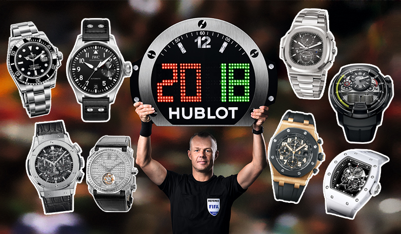 2018世界杯|看完球星私下收藏的腕表,竟也是一场精彩的世界级PK赛!