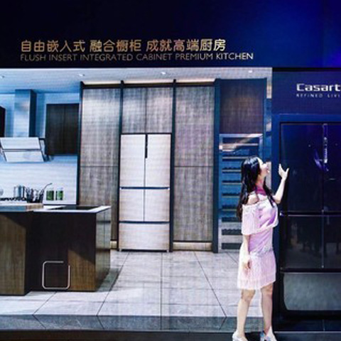 冰箱藏在柜子里,卡萨帝自由嵌入式冰箱放置不受限