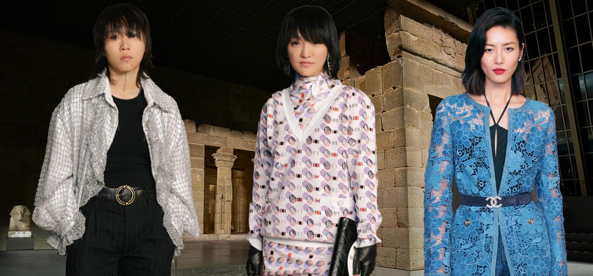 CHANEL带我们穿越到埃及古神庙,还遇见了周迅、刘雯、窦靖童!