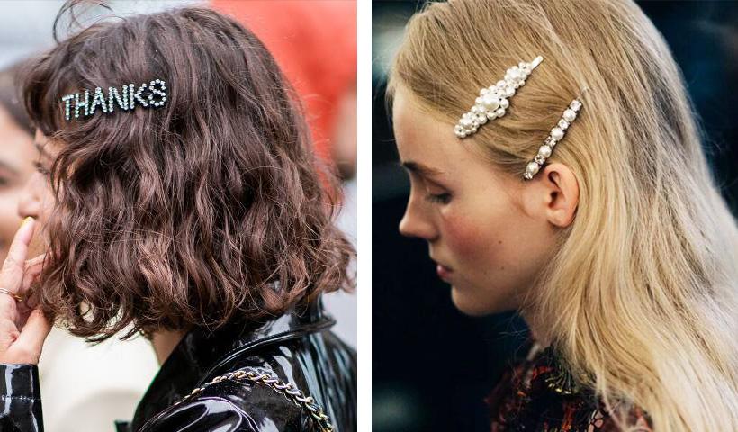 别上这枚小发卡,老阿姨也能做回小仙女