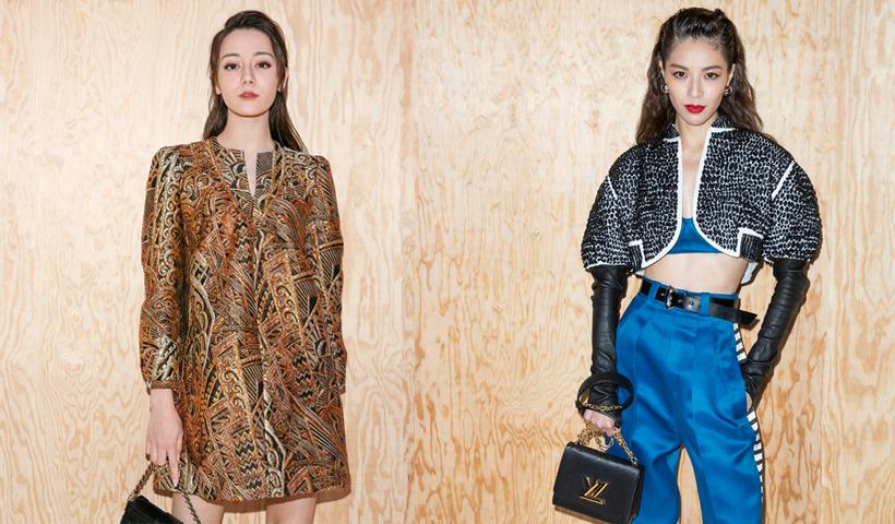 """与钟楚曦、热巴一起回到Louis Vuitton梦幻的""""美好年代""""!"""
