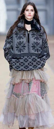 冬天穿薄裙 做个轻盈的小仙女