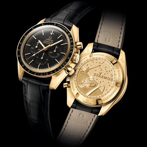欧米茄为史蒂芬·霍金科学传播奖得主打造专属欧米茄超霸腕表
