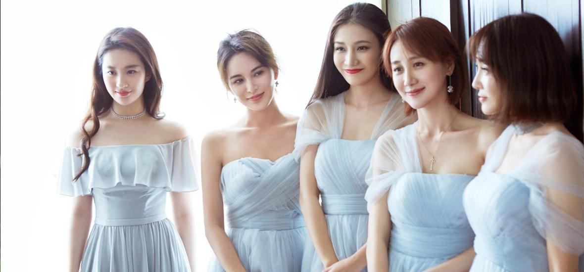 婚礼季│明星的婚礼那么拉风 就是因为这些伴娘太抢镜!