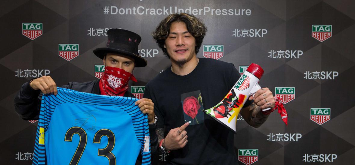专访泰格豪雅品牌挚友王大雷 足球明星为什么想要纹一只表?