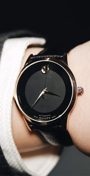摩凡陀现代经典自动机械腕表