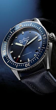 宝珀五十�x深潜器Bathyscaphe大三针腕表