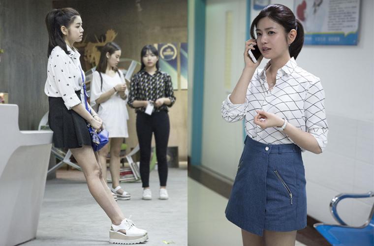 送你一只职场小白兔陈妍希的日常穿搭