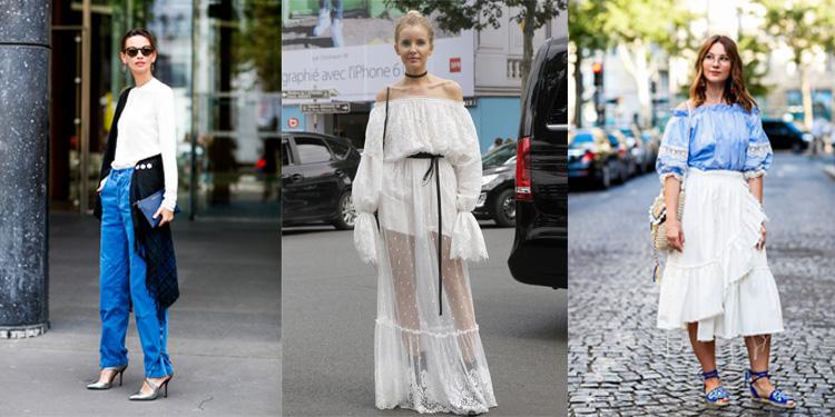 巴黎高定街拍 下半年时髦全靠它
