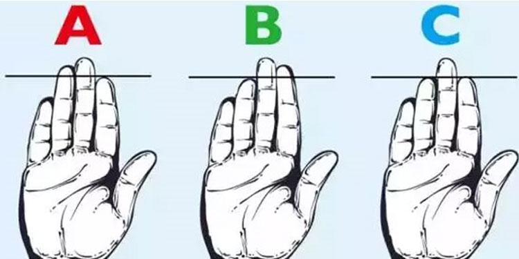 伸出手就能看出你是什么样的人!