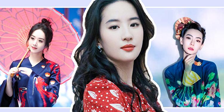中国妆别样红,我被刘亦菲、赵丽颖同款中国妆美到了!