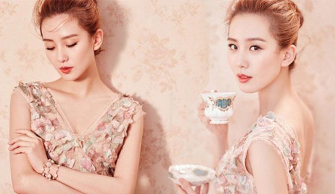 婚后刘诗诗美出新高度 优雅露背性感加分